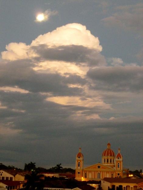 Moonlit Church