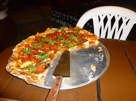 Best pizza so far!