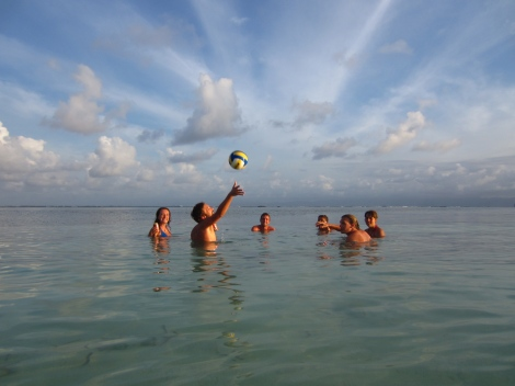 Volleyball in San Blas